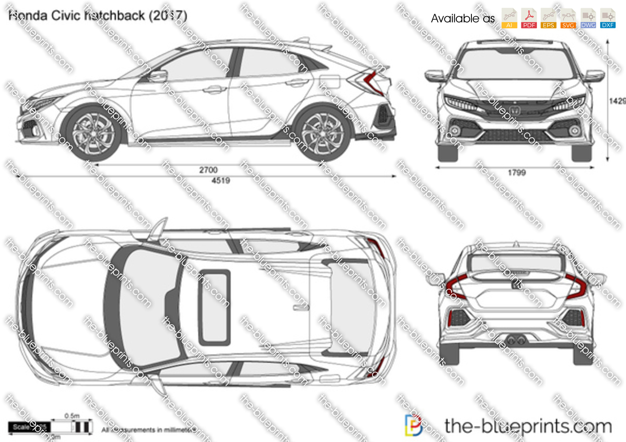 Honda Civic hatchback FK4