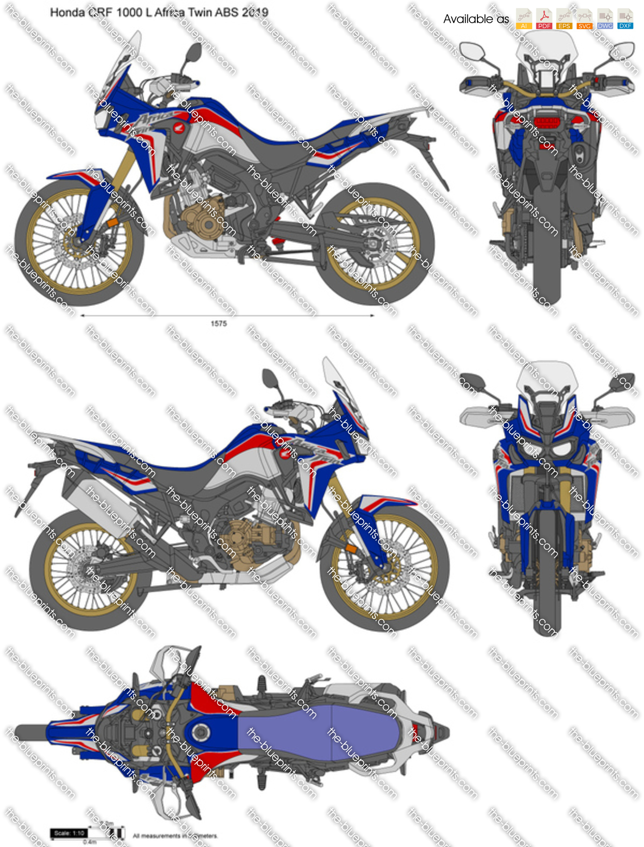 Honda CRF 1000 L Africa Twin ABS