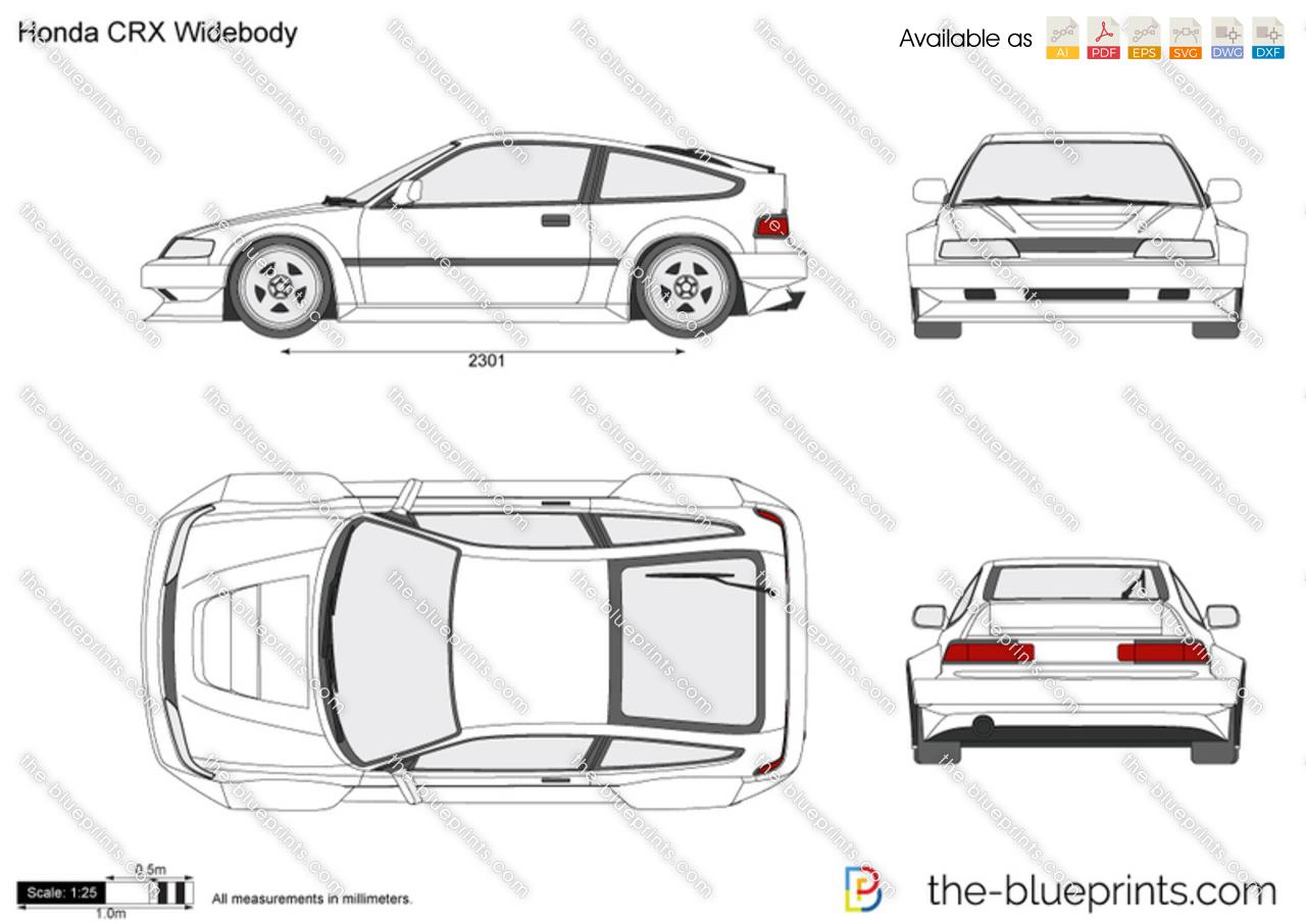 Honda CRX Widebody