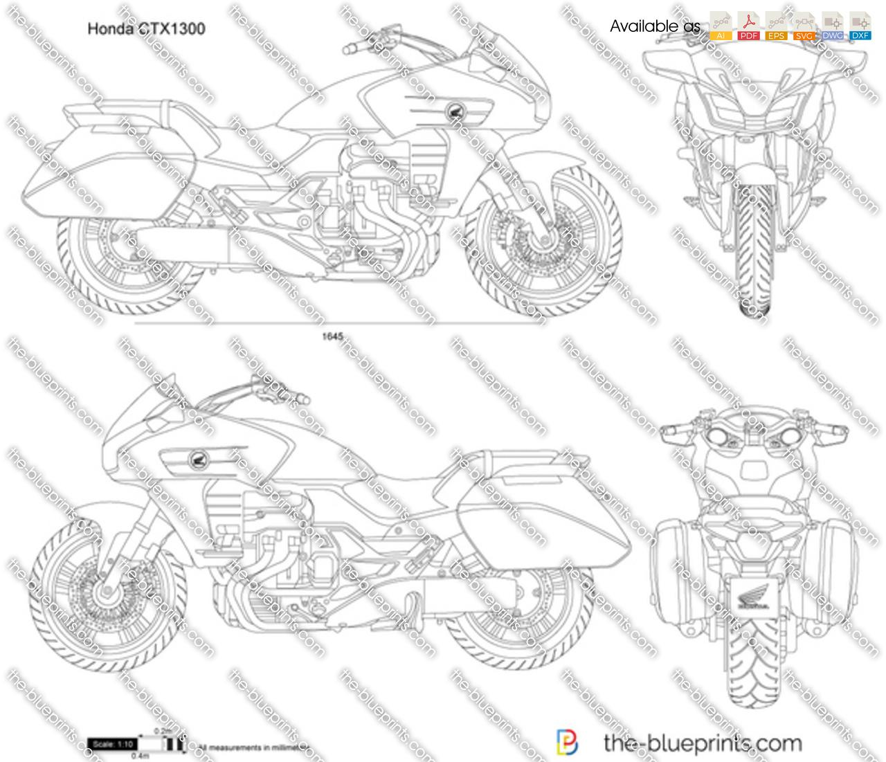 Honda CTX1300 2015