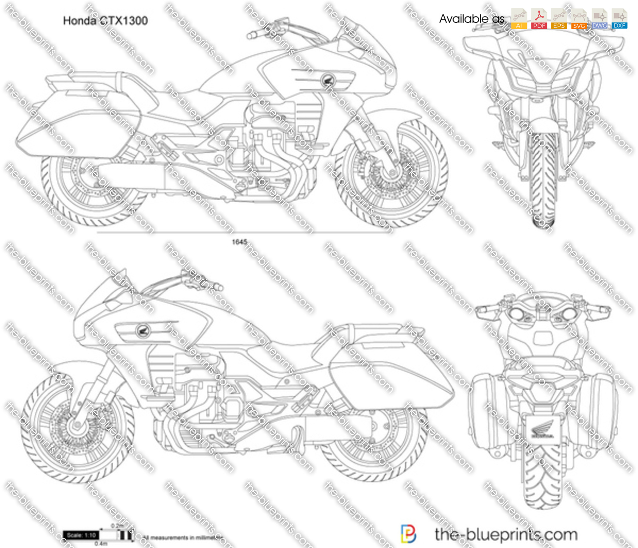 Honda CTX1300 2017
