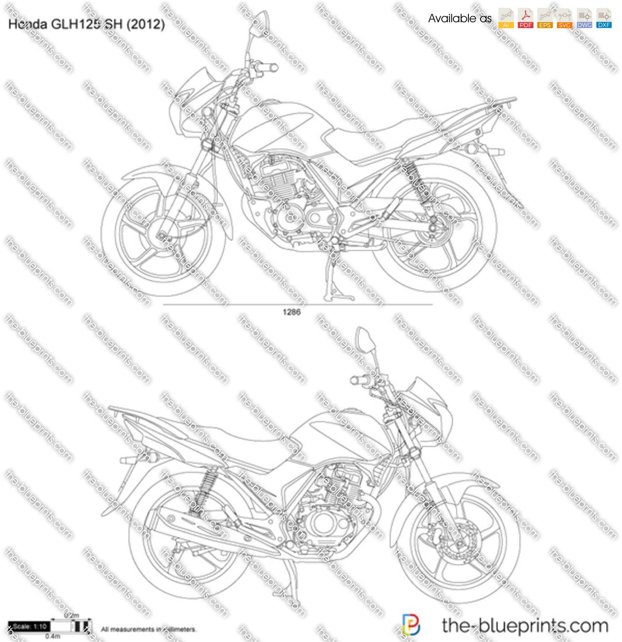 Honda GLH125 SH