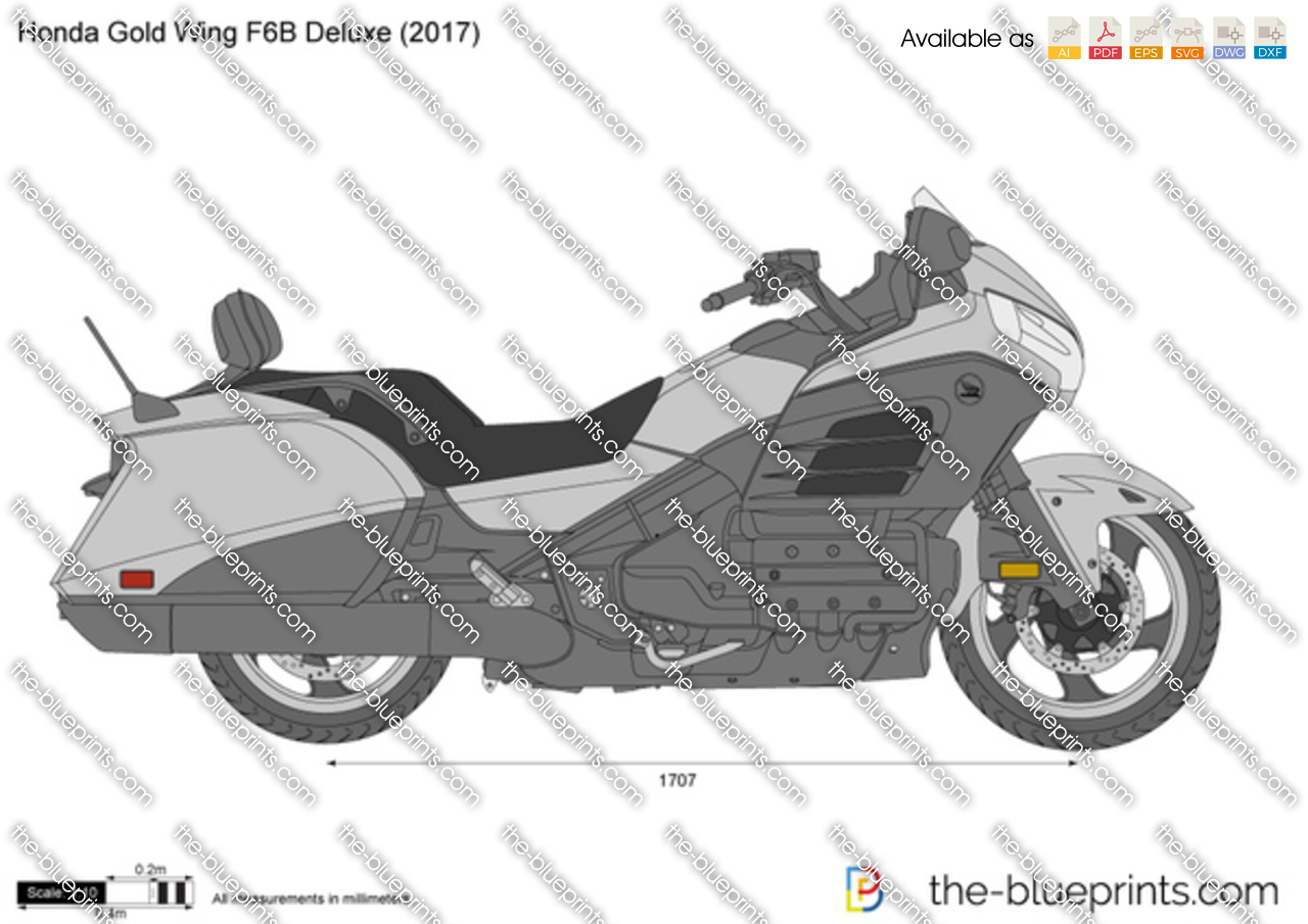 Honda Gold Wing F6B Deluxe 2018