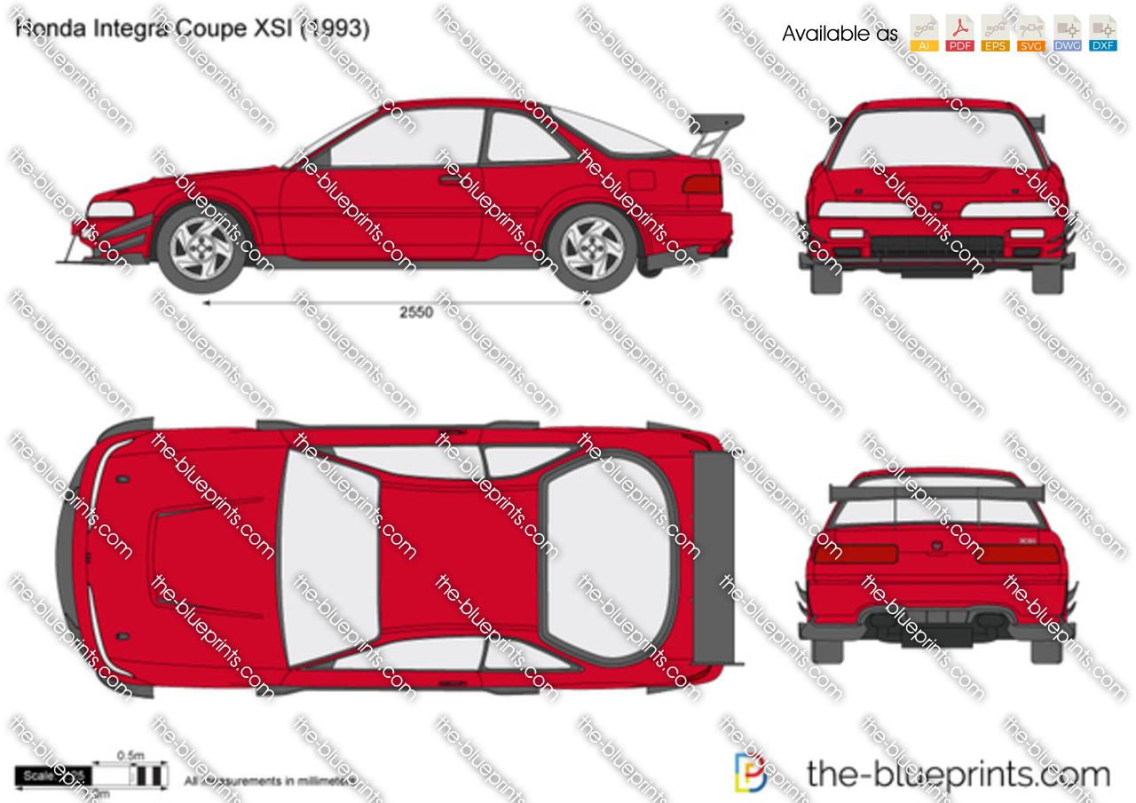 Honda Integra Coupe XSI