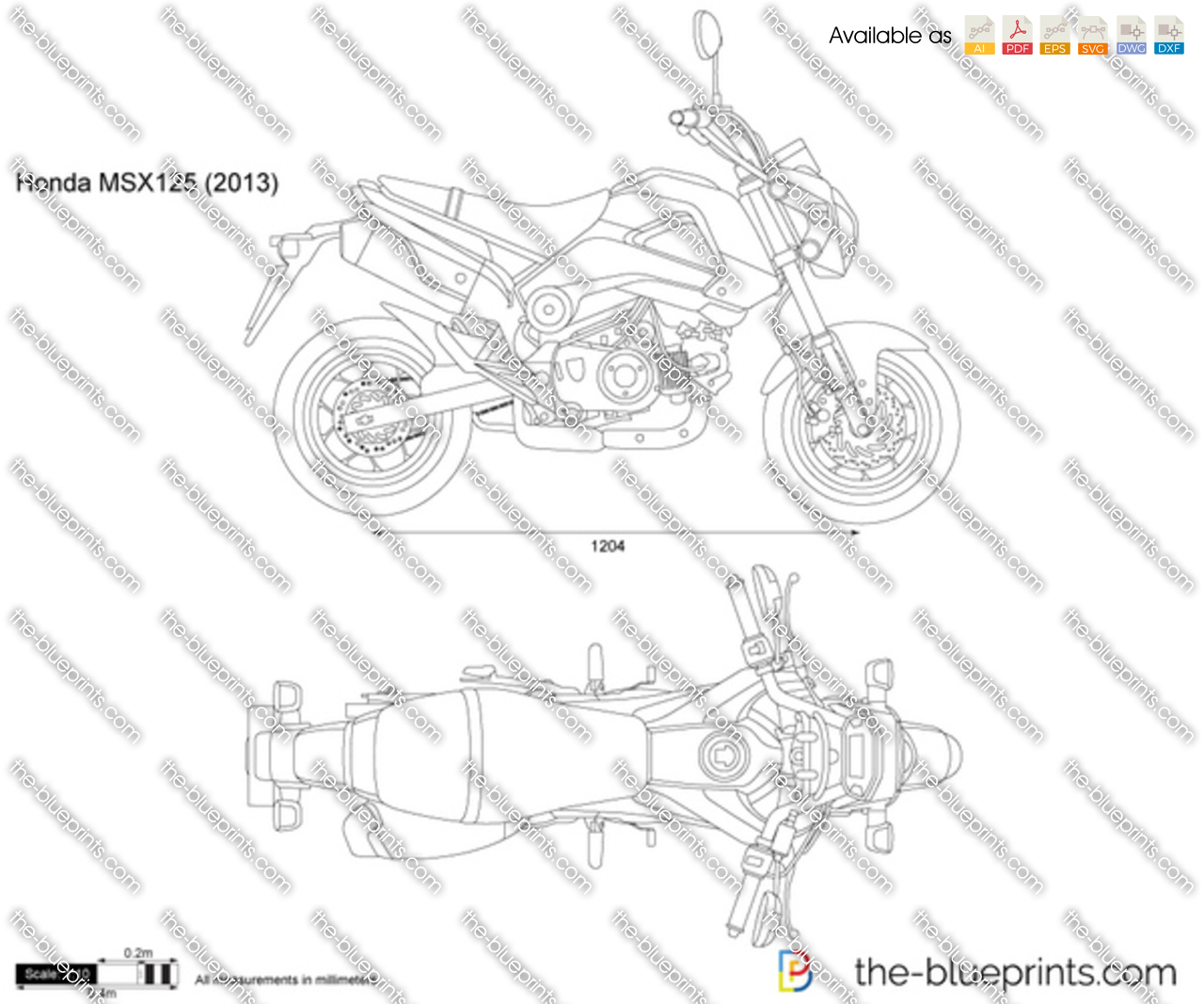 Honda MSX125 2015