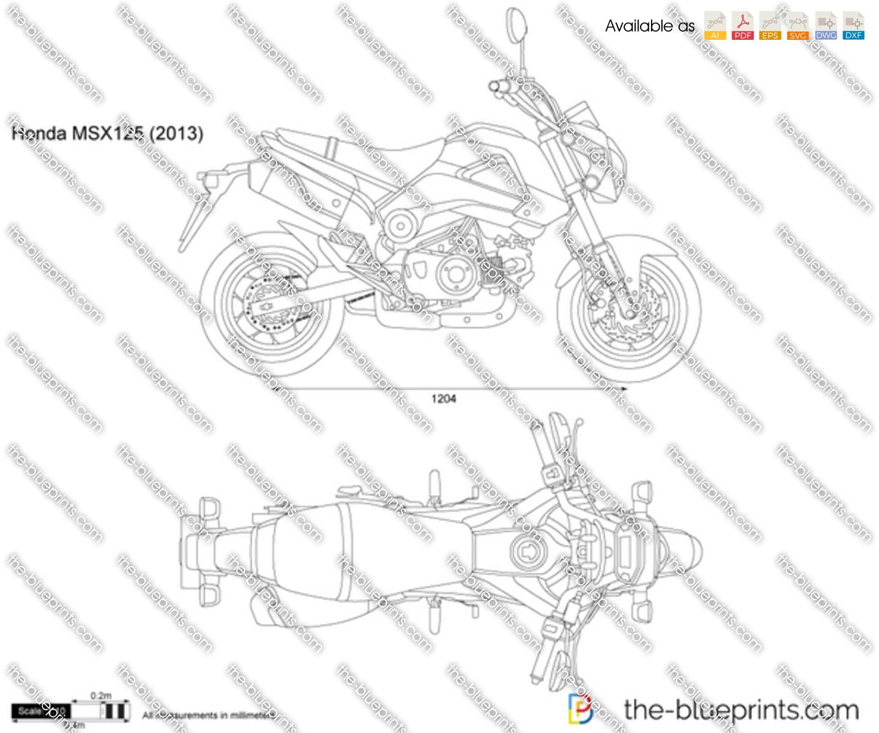 Honda MSX125 2017