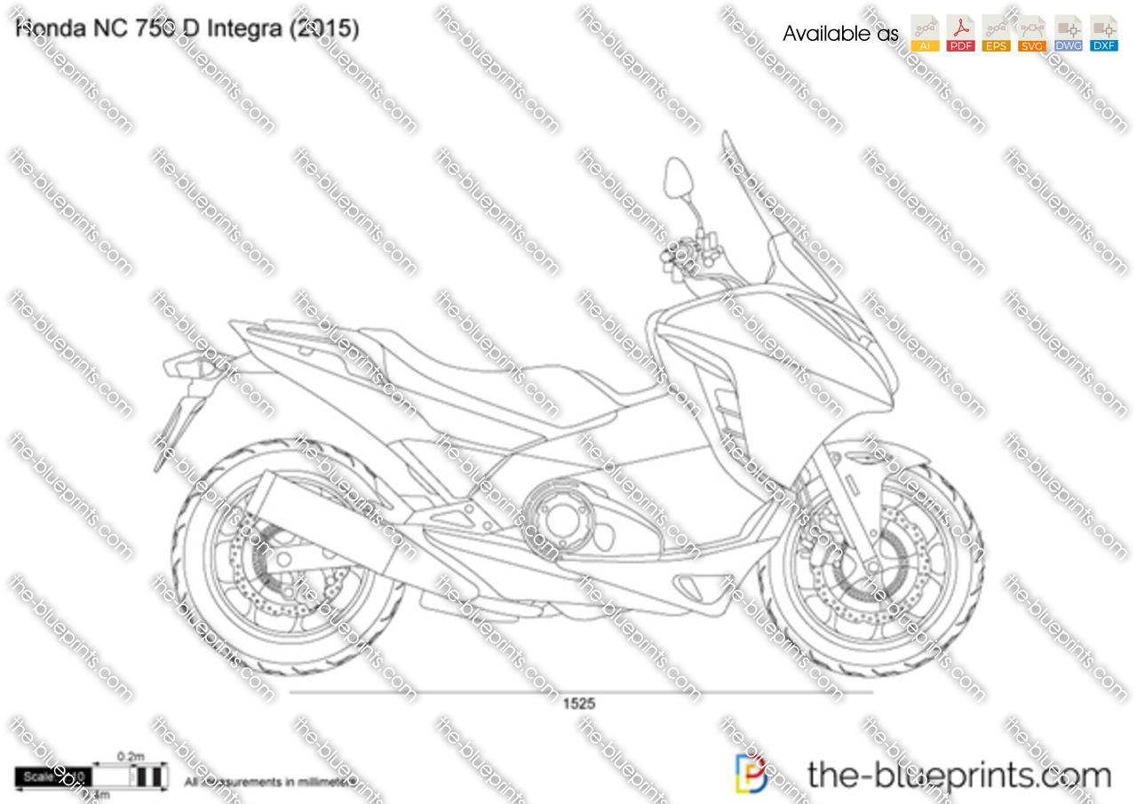 Honda NC 750 D Integra 2017