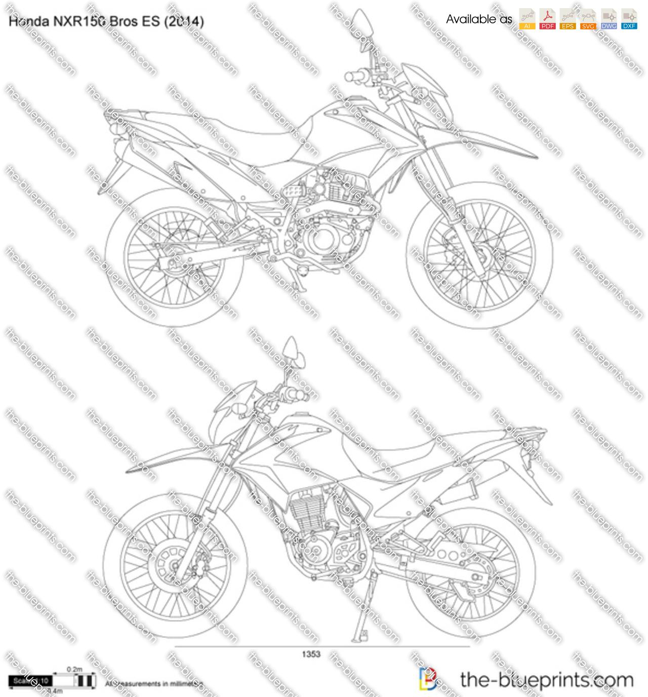 Honda NXR150 Bros ES