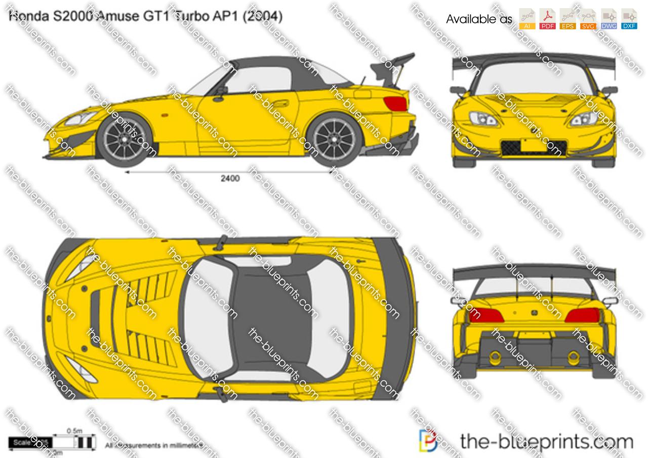 Honda S2000 Amuse GT1 Turbo AP1