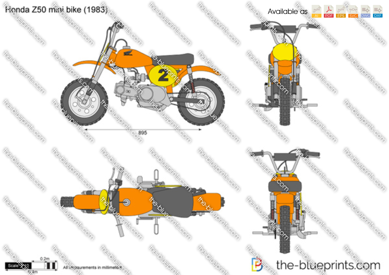Honda Z50 mini bike