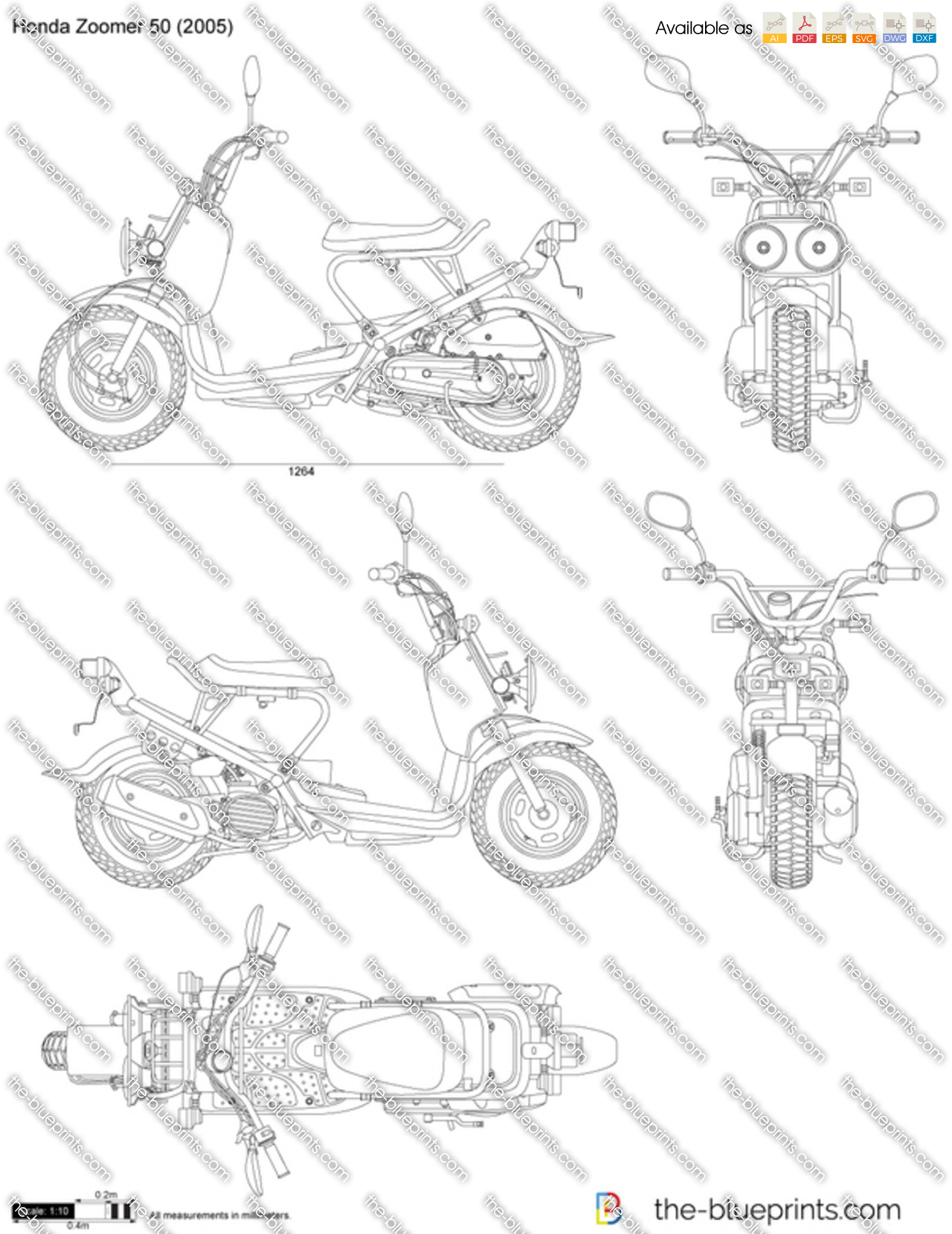 Honda Zoomer 2010