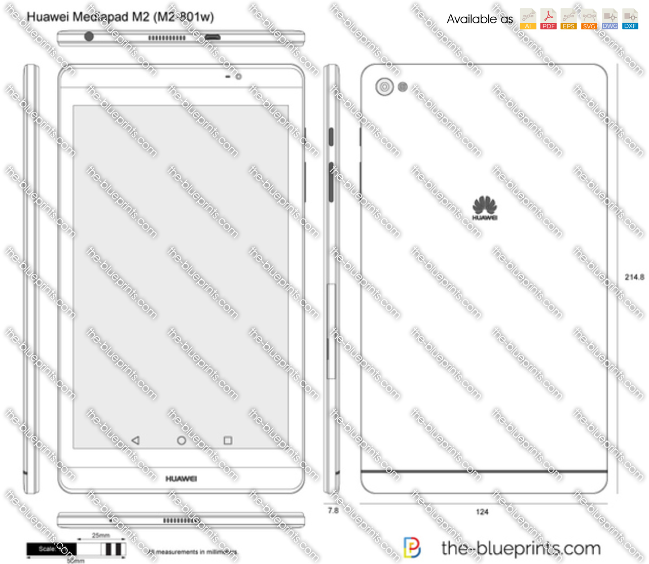 Huawei Mediapad M2 (M2-801w)