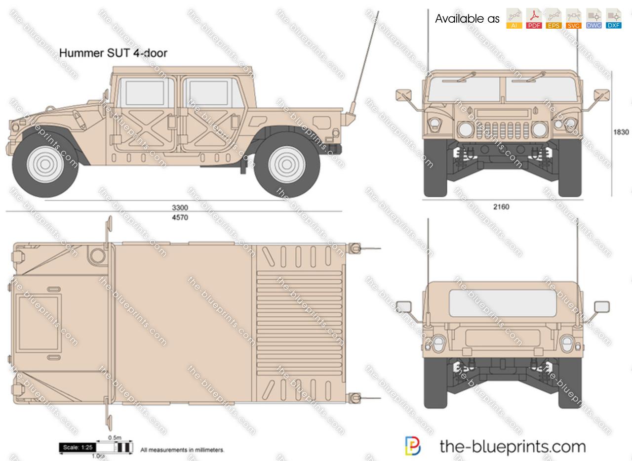 Hummer SUT 4-door