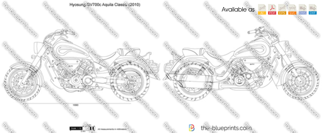 Hyosung GV700c Aquila Classic