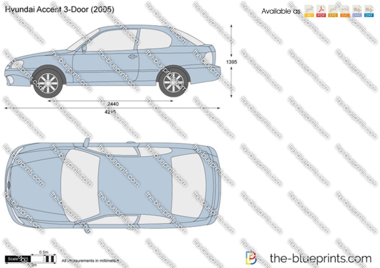 Hyundai Accent 3-Door 2000