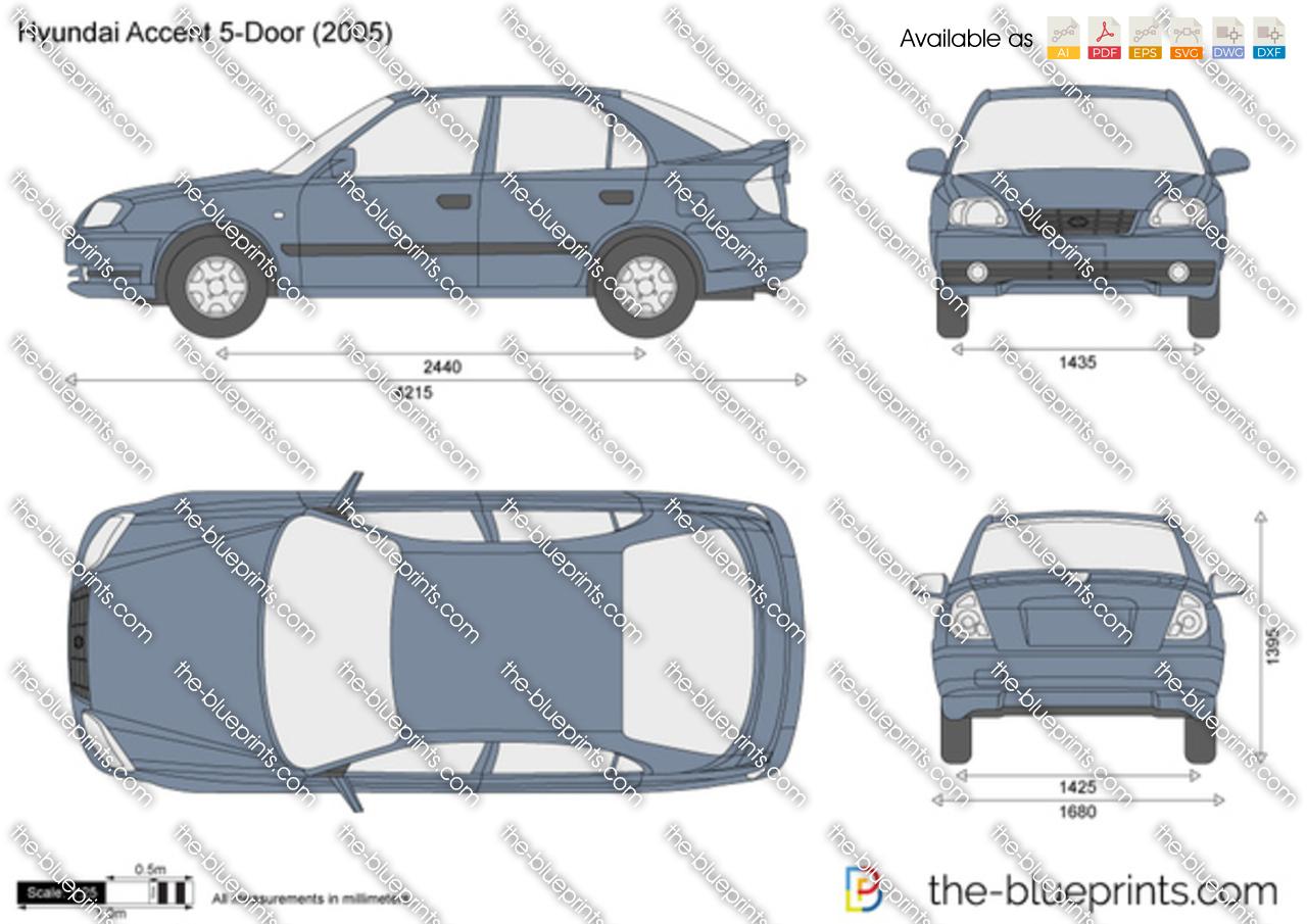 Hyundai Accent 5-Door 2000