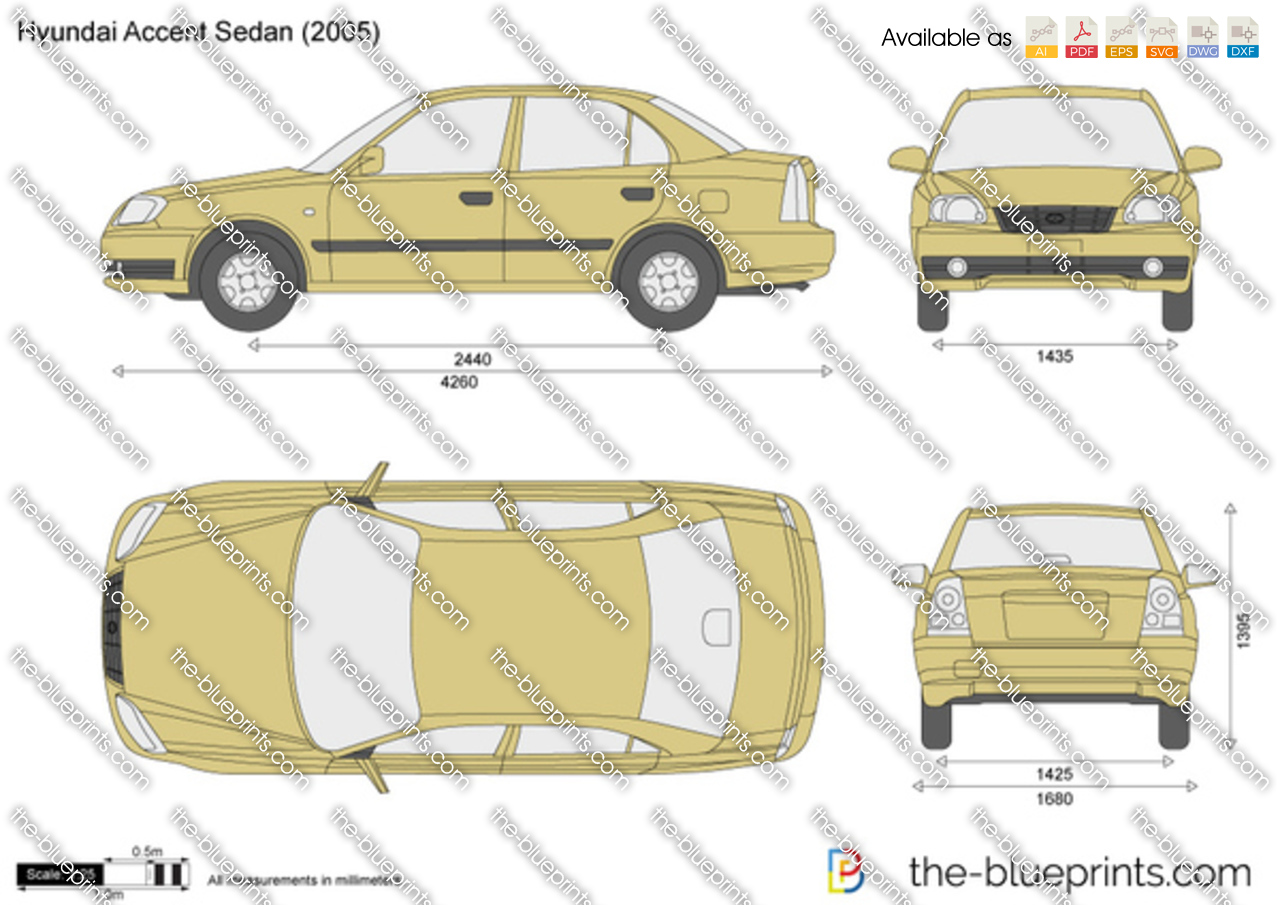 Hyundai Accent Sedan 1999