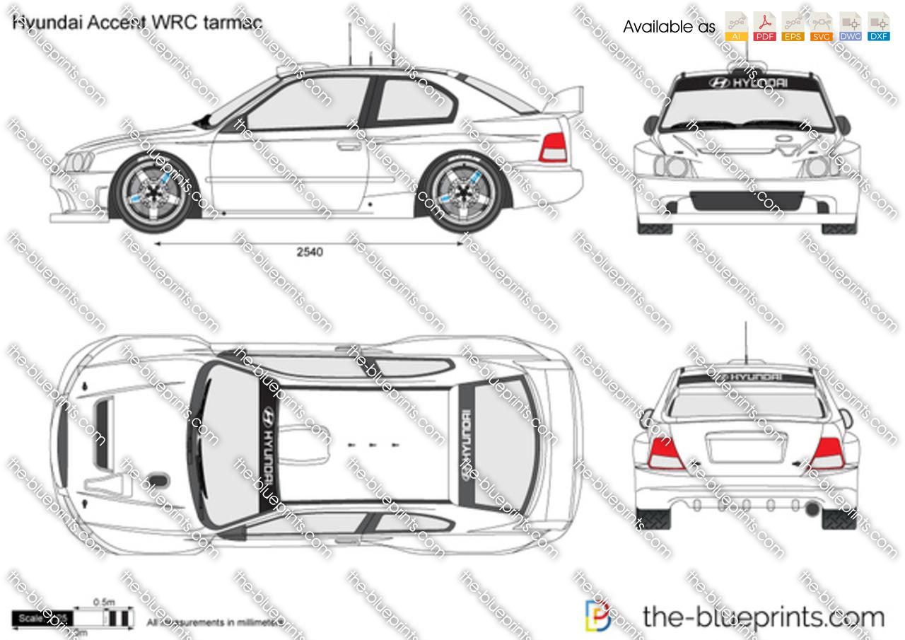 Hyundai Accent WRC tarmac
