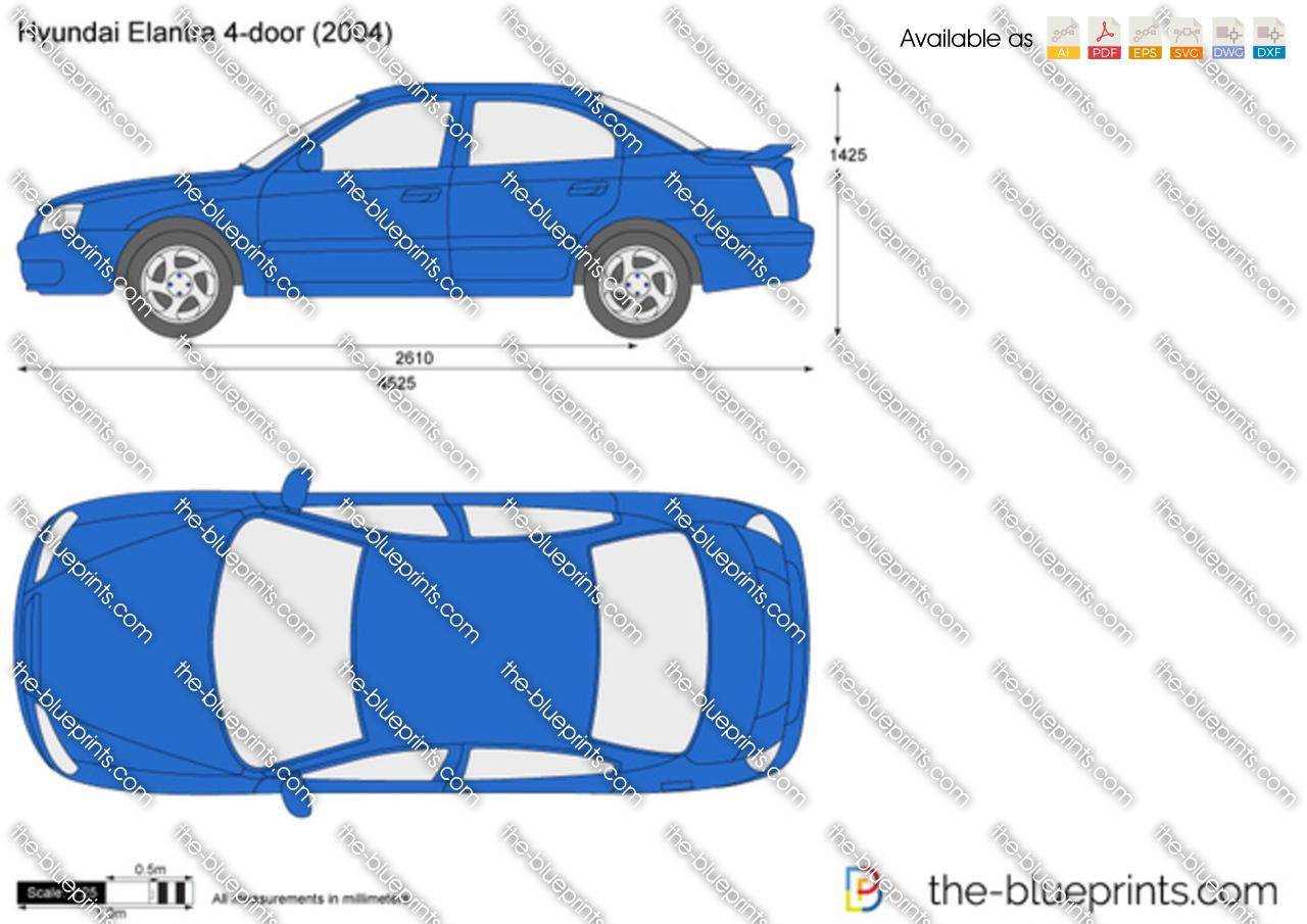 Hyundai Elantra 4-Door 2000