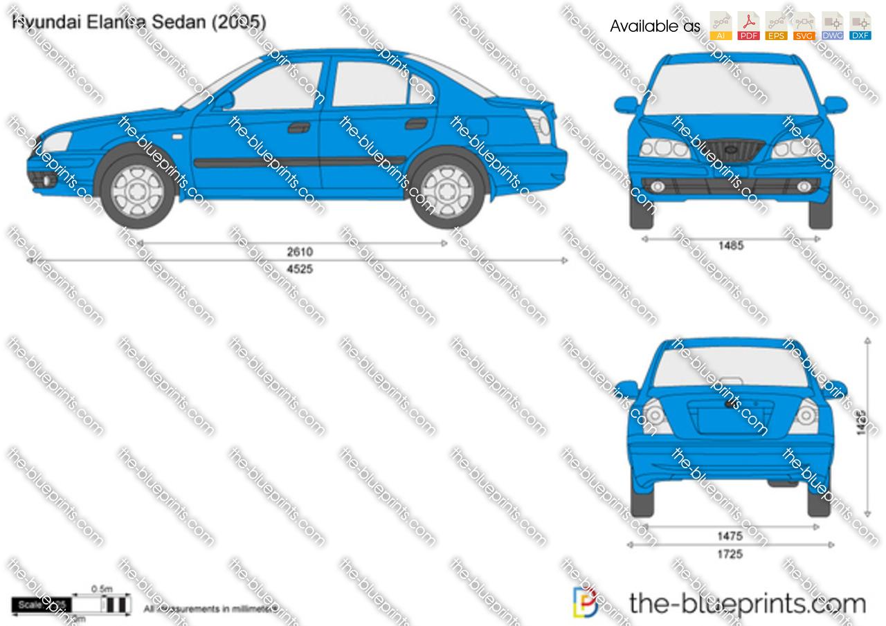 Hyundai Elantra Sedan 2000