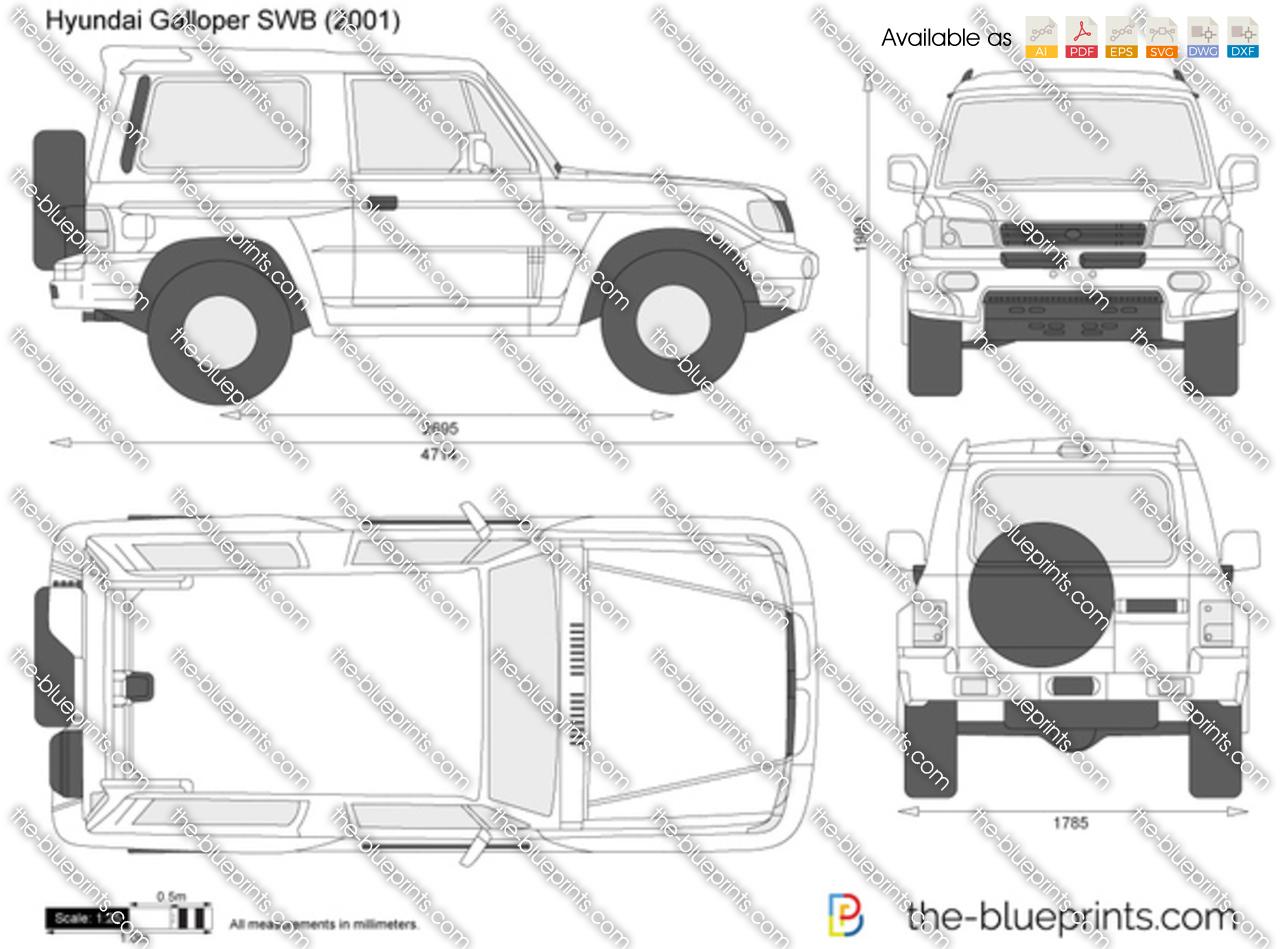 Hyundai Galloper SWB 2000