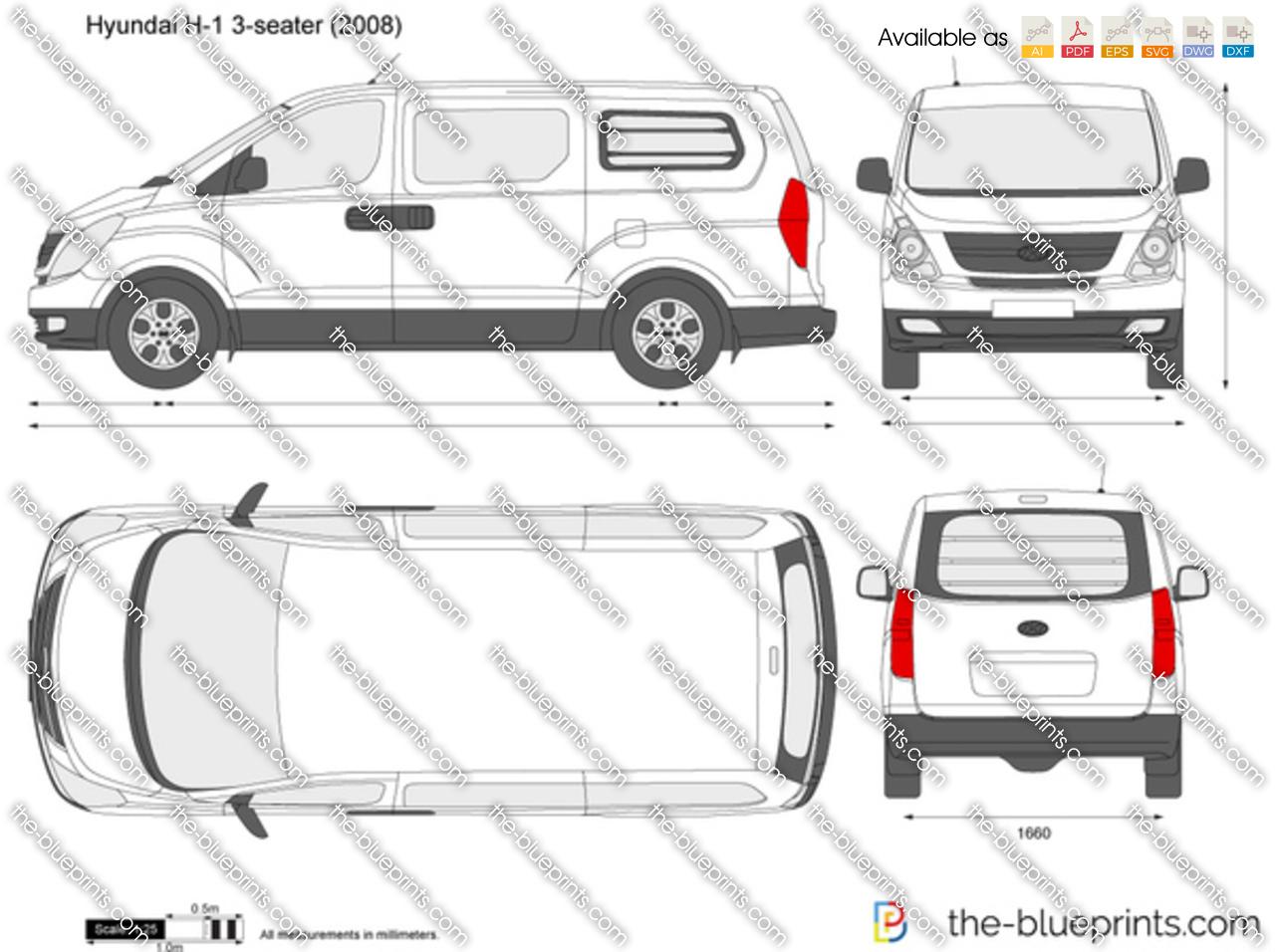 Hyundai H-1 3-seater Panel Van