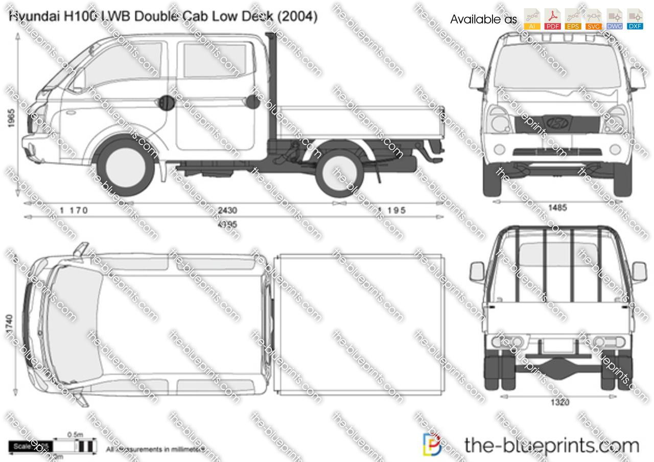 hyundai h100 porter double cab