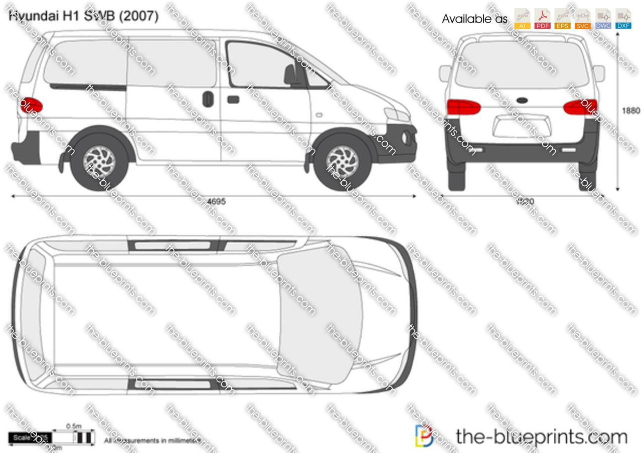 Hyundai imax dimensions