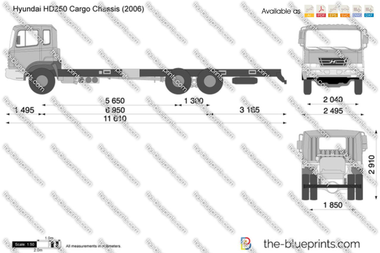 Hyundai HD250 Cargo Chassis