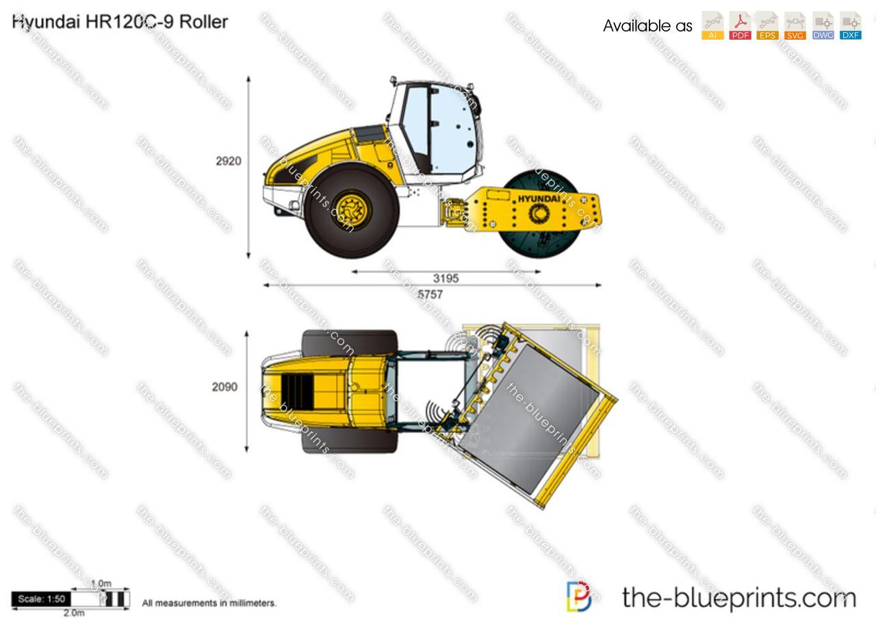 Hyundai HR120C-9 Roller