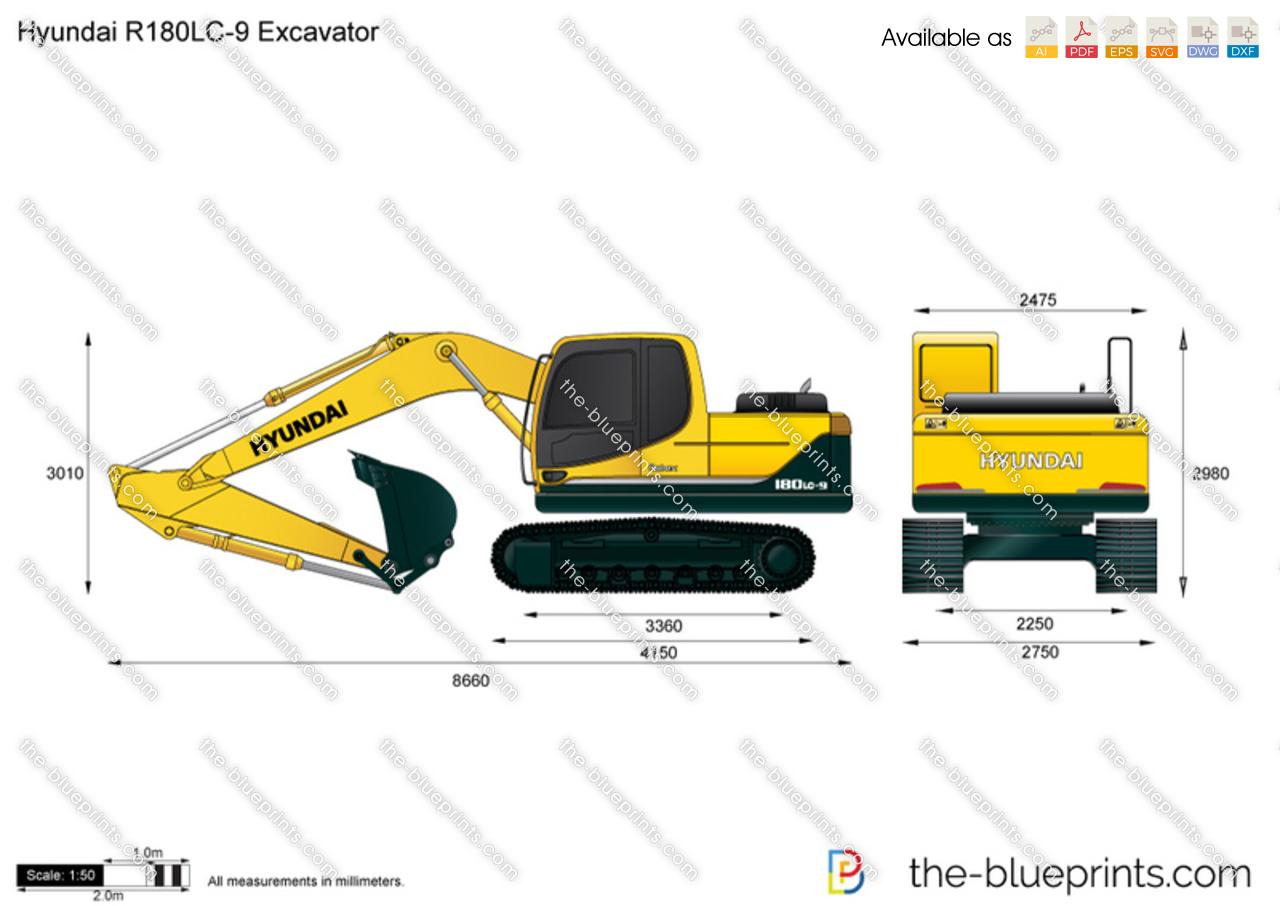 Hyundai R180LC-9 Excavator