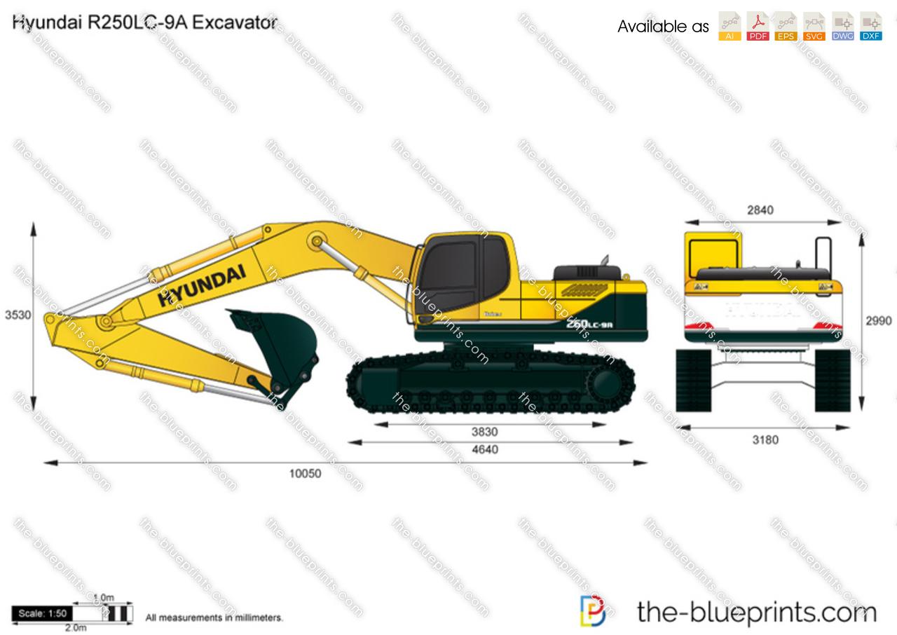 Hyundai R250LC-9A Excavator