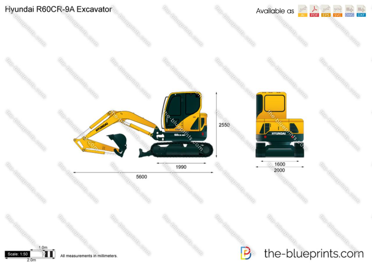 Hyundai R60CR-9A Excavator