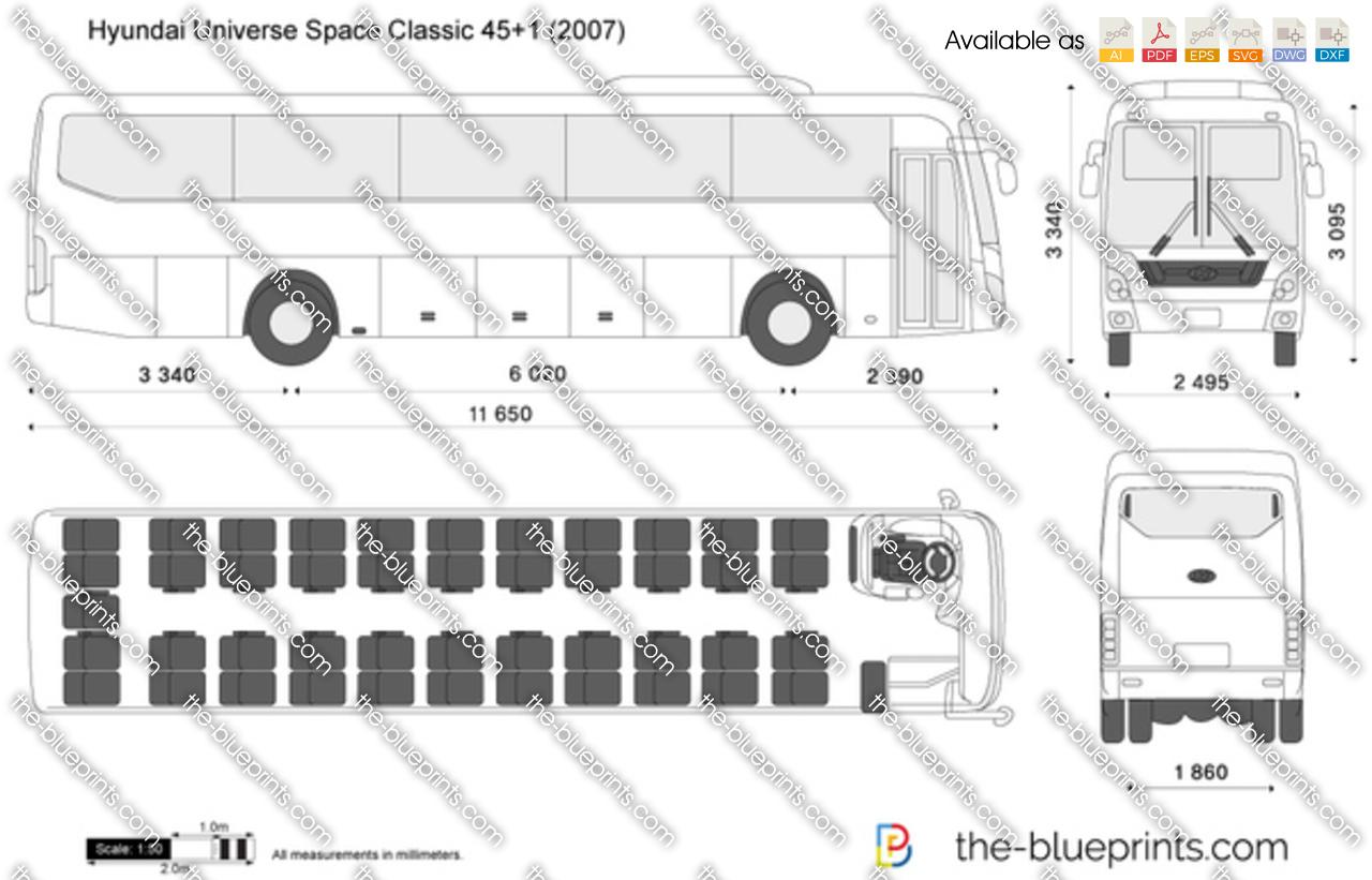 Hyundai Universe Space Classic 45+1