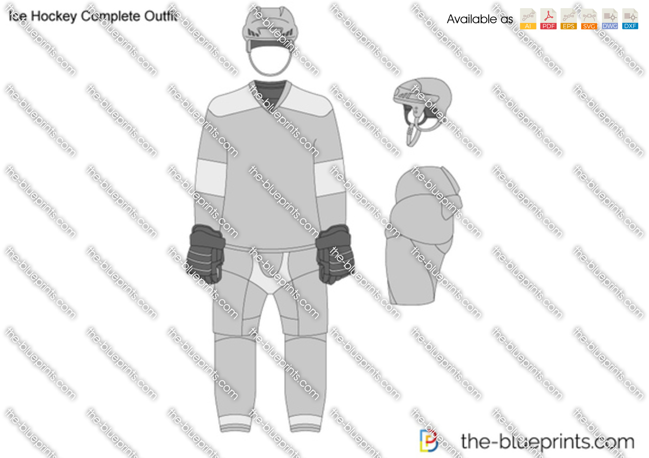 Ice Hockey Complete Outfit