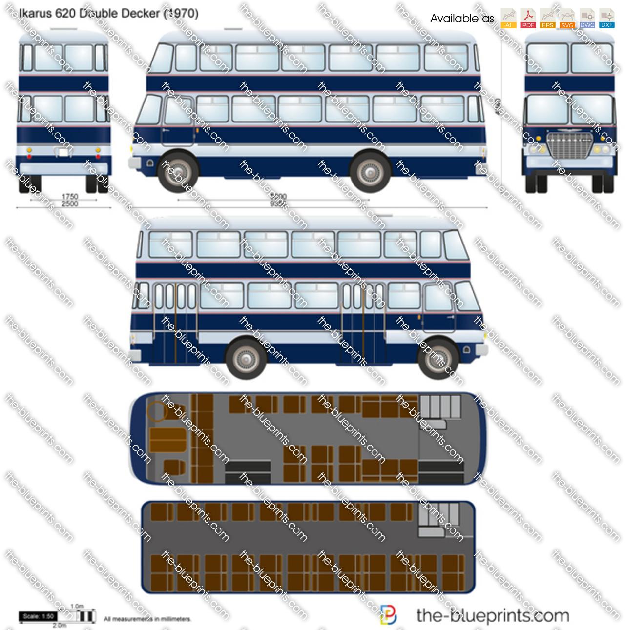 Ikarus 620 Double Decker