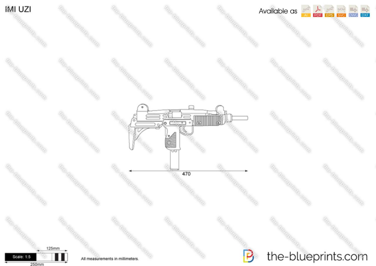 Vector Requests - IMI Uzi Pistol