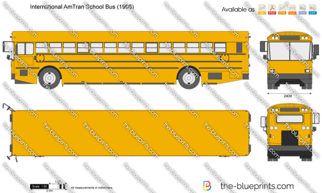 International AmTran School Bus