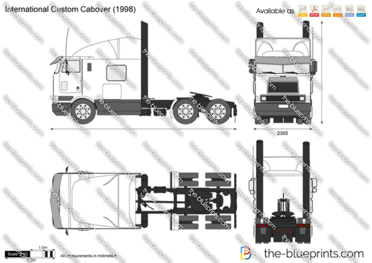 International Custom Cabover