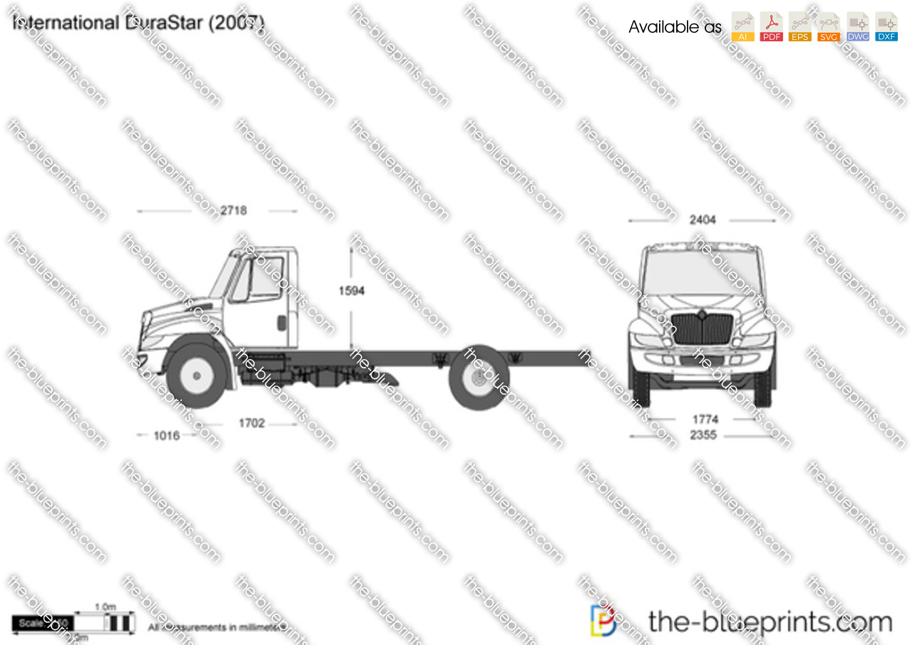 international durastar vector drawing