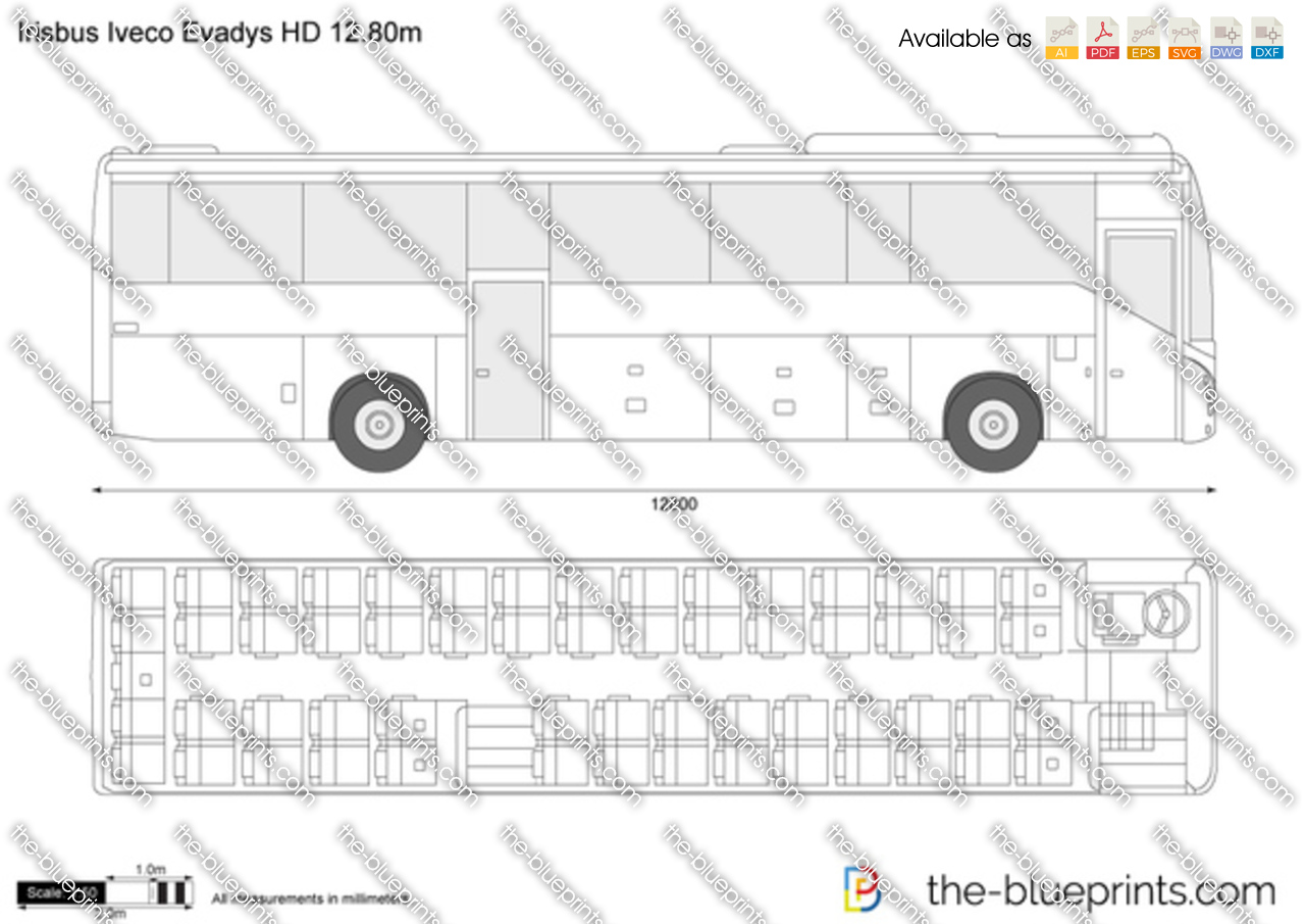 Irisbus Iveco Evadys HD 12.80m
