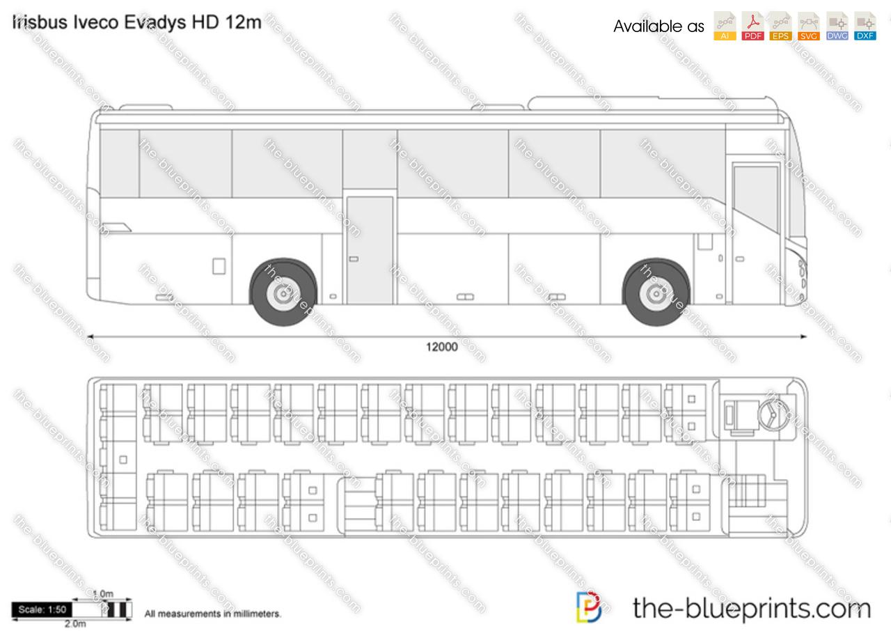 Irisbus Iveco Evadys HD 12m