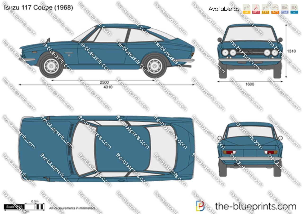 Isuzu 117 Coupe 1971