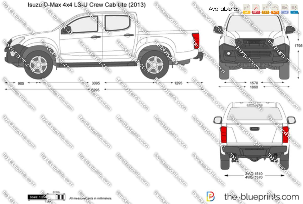 Isuzu D-Max 4x4 LS-U Crew Cab Ute 2014