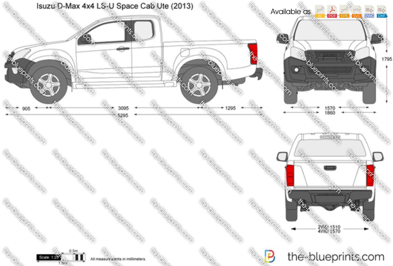 Isuzu D-Max 4x4 LS-U Space Cab Ute 2014