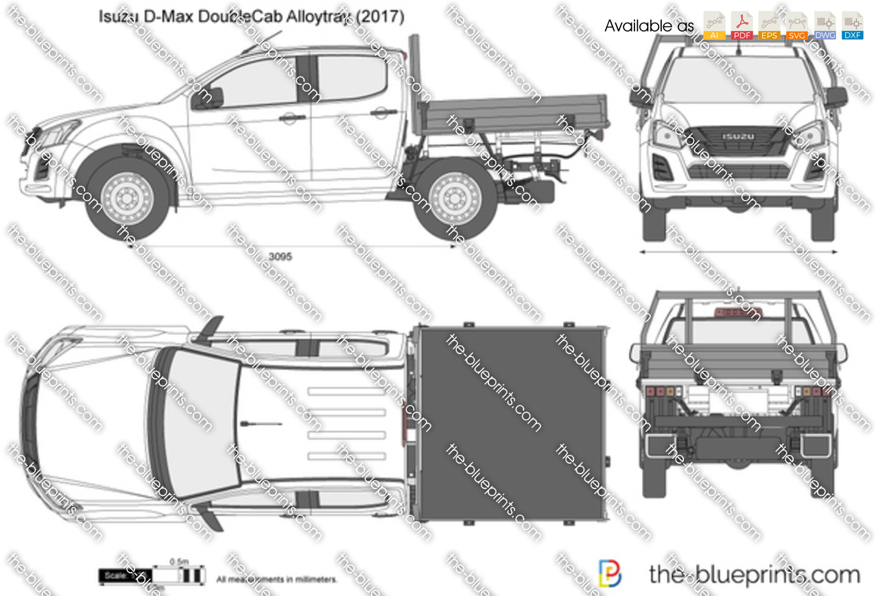 Isuzu D-Max Double Cab Alloytray
