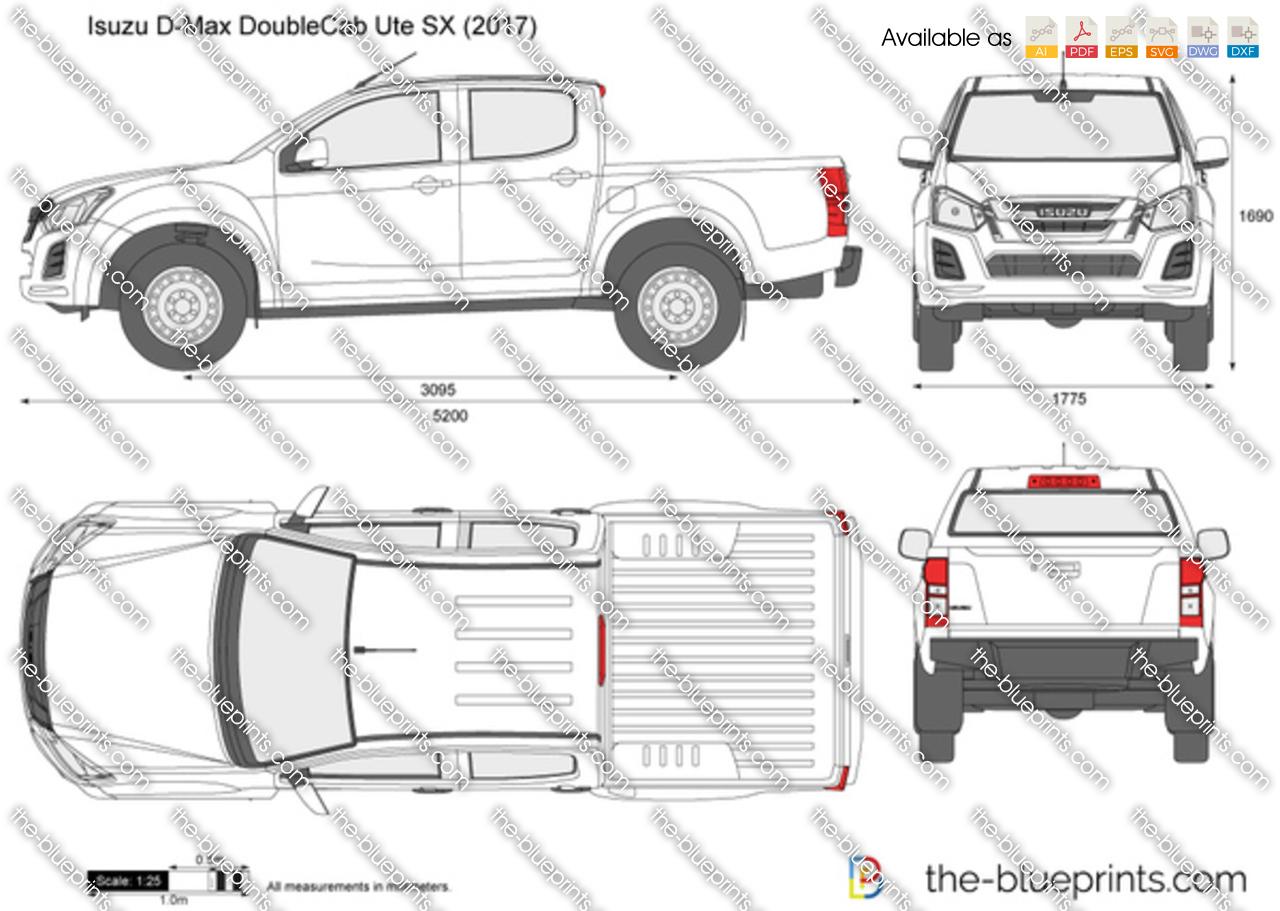 Isuzu D-Max Double Cab Ute SX 2018