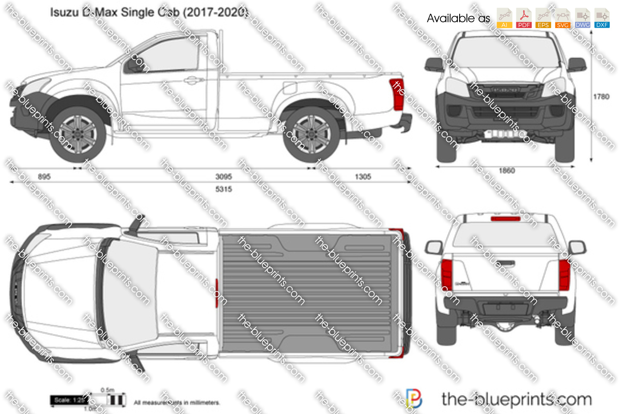 Isuzu D-Max Single Cab 2017