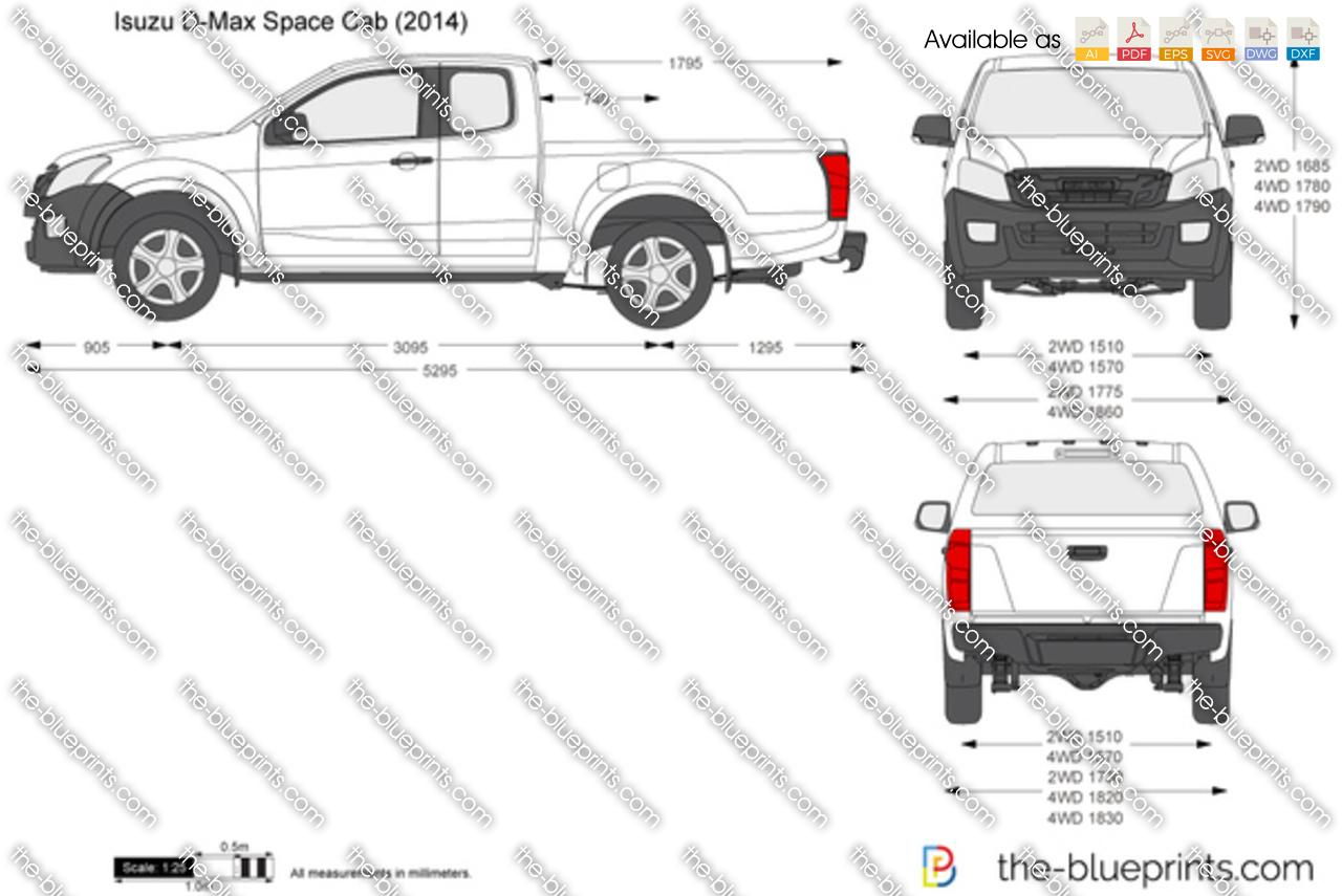 Isuzu D-Max Space Cab