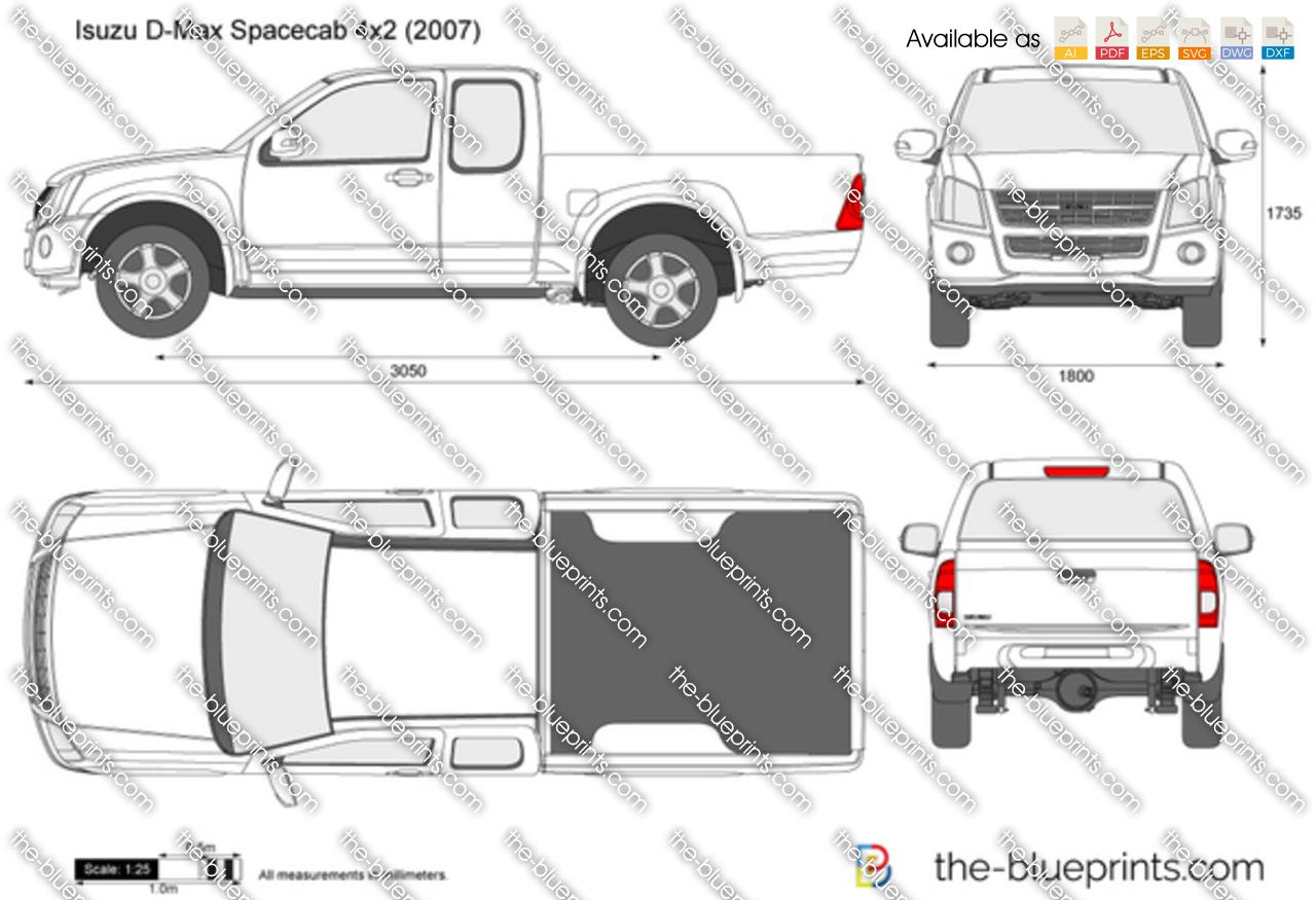Isuzu D-Max Spacecab 4x2 2008